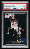 Shaquille O'Neal 1992-93 Upper Deck #1 SP RC/NBA First Draft Pick (PSA 9) at PristineAuction.com