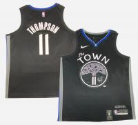 Klay Thompson Signed Warriors Nike Jersey (Fanatics Hologram) at PristineAuction.com