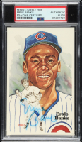 Ernie Banks Signed LE 1981 Perez Steele Galleries HOF Postcard (PSA Encapsulated) at PristineAuction.com