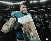 Chris Long Signed Eagles 16x20 Photo (JSA COA) at PristineAuction.com