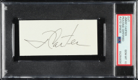 Jimmy Carter Signed 1.75x4.25 Cut (PSA Encapsulated) at PristineAuction.com