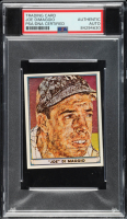 Joe DiMaggio Signed 1940 Play Ball #64 Reprint (PSA Encapsulated) at PristineAuction.com