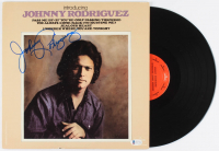 "Johnny Rodriguez Signed ""Introducing"" Vinyl Record (Beckett COA) at PristineAuction.com"