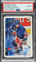 Wayne Gretzky Signed 1998-99 Upper Deck MVP #132 (PSA Encapsulated) at PristineAuction.com