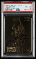 Kobe Bryant 1996 Fleer EX-2000 23KT Gold Card / Purple (PSA 8) at PristineAuction.com