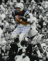"Raymond Berry Signed Colts 16x20 Photo Inscribed ""Unitas to Berry"", ""HOF 73 / 6 Pro Bowls"" & ""1958-1959 World Champs"" (Schulte Sports Hologram) at PristineAuction.com"