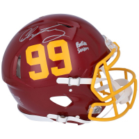 "Chase Young Signed Washington Full-Size Authentic On-Field Speed Helmet Inscribed ""Rookie Season"" (Fanatics Hologram) at PristineAuction.com"