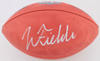 """Justin Fields Signed Official """"The Duke"""" Game Ball (Beckett COA) at PristineAuction.com"""