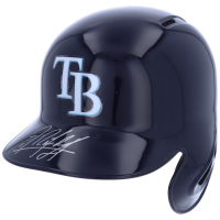 Randy Arozarena Signed Rays Full-Size Batting Helmet (Fanatics Hologram) at PristineAuction.com