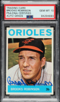 Brooks Robinson Signed 1964 Topps #230 (PSA Encapsulated) at PristineAuction.com