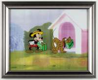 """Walt Disney's """"Mr. Mouse Takes a Trip"""" 13.5x16.5 Custom Framed Animation Serigraph Display at PristineAuction.com"""