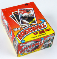 "1988 Topps ""The Real One"" Bubble Gum Baseball Cards Box with (36) Packs at PristineAuction.com"