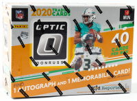 2020 Panini Donruss Optic Football Mega Box with (10) Packs at PristineAuction.com