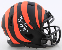 Ickey Woods Signed Bengals Eclipse Alternate Speed Mini Helmet (Beckett COA) at PristineAuction.com