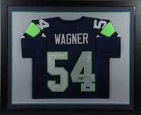 Bobby Wagner Signed 35.5x43.5 Custom Framed Jersey (Radtke COA) at PristineAuction.com