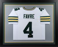 "Brett Favre Signed 35.5x43.5 Custom Framed Jersey Inscribed ""HOF 16"" (Radtke COA) at PristineAuction.com"