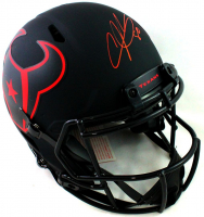 Andre Johnson Signed Texans Full-Size Authentic On-Field Eclipse Alternate Speed Helmet (JSA COA) at PristineAuction.com