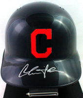 "Charlie Sheen Signed Indians ""Major League"" Full-Size Helmet (JSA COA) at PristineAuction.com"
