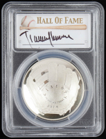 2014-P Baseball HOF Commemorative Silver Dollar - Randy Johnson Signed Label (PCGS PR70 Deep Cameo) at PristineAuction.com