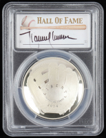 2014-P Baseball HOF Commemorative Silver Dollar - Randy Johnson Signed Label (PCGS PR70 Deep Cameo) at PristineAuction.com