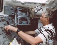Steven Hawley Signed NASA 8x10 Photo (Beckett COA) at PristineAuction.com