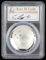 2014-P Baseball HOF Commemorative Silver Dollar - Craig Biggio Signed Label (PCGS PR70 Deep Cameo) at PristineAuction.com