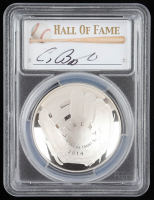 2014-P Baseball HOF Commemorative Silver Dollar - Craig Biggio Signed Label (PCGS PR70 Deep Cameo) at PristineAuction.com