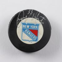 Tony Amonte Signed Rangers Logo Hockey Puck (JSA COA) at PristineAuction.com