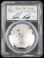 2014-P Baseball HOF Commemorative Silver Dollar - Pedro Martinez Signed Label (PCGS PR70 Deep Cameo) at PristineAuction.com
