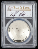 2014-P Baseball HOF Commemorative Silver Dollar - Pedro Martinez Signed Label (PCGS PR70 Deep Cameo) at PristineAuction.com
