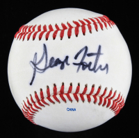 George Foster Signed OL Baseball (JSA COA) at PristineAuction.com