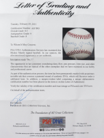"""Mickey Mantle Signed OAL Baseball Inscribed """"No. 7"""" With Display Case (PSA LOA) at PristineAuction.com"""