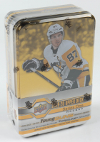 2019-20 Upper Deck Series 1 Hockey Tin Box with (9) Packs at PristineAuction.com