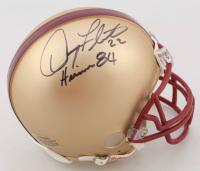"Doug Flutie Signed Boston College Eagles Mini-Helmet Inscribed ""Heisman 84"" (JSA COA) at PristineAuction.com"