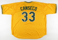 "Jose Canseco Signed Jersey Inscribed ""40/40"" (JSA COA) at PristineAuction.com"