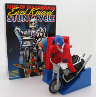 "Evel Knievel Signed ""Evel Knievel: Stunt Cycle"" Action Figurine (Beckett COA) (See Description) at PristineAuction.com"