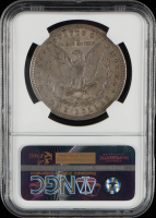 1884 Morgan Silver Dollar, VAM-3 Large Dot, Top 100 - Great Northwest Collection (NGC Encapsulated) at PristineAuction.com