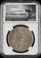 1887 Morgan Silver Dollar, VAM-12A DDO Gator & Clash, Top 100 - Legacy Collection (NGC MS61) at PristineAuction.com