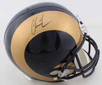 Chris Long Signed Rams Full-Size Helmet (JSA COA) at PristineAuction.com