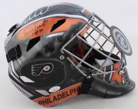"""Bernie Parent Signed Flyers Full-Size Goalie Mask Inscribed """"HOF 84"""" (JSA COA) at PristineAuction.com"""