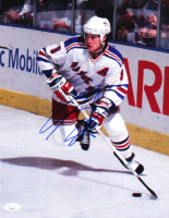 Adam Graves Signed Rangers 11x14 Photo (JSA COA) at PristineAuction.com