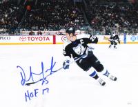 "Dave Andreychuk Signed Lightning 11x14 Photo Inscribed ""HOF 17"" (JSA COA) at PristineAuction.com"