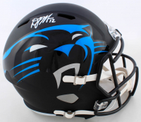 D.J. Moore Signed Panthers Full-Size Eclipse Alternate Speed Helmet (JSA COA) (See Description) at PristineAuction.com