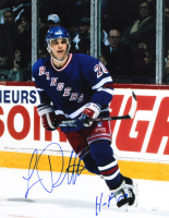 """Luc Robitaille Signed Rangers 11x14 Photo Inscribed """"HOF 09"""" (JSA COA) at PristineAuction.com"""