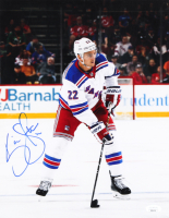 Kevin Shattenkirk Signed Rangers 11x14 Photo (JSA COA) at PristineAuction.com