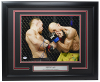 Peter Yan Signed UFC 16x20 Custom Framed Photo (PSA COA) at PristineAuction.com