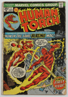 """Vintage 1974 """"Human Torch"""" Vol. 1 Issue #1 Marvel Comic Book (See Description) at PristineAuction.com"""