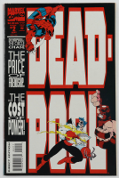 """Vintage 1993 """"Deadpool"""" Vol. 1 Issue #2 Marvel Comic Book at PristineAuction.com"""