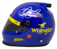 Dale Earnhardt Jr. Signed NASCAR Wrangler #3 Mini-Helmet (Beckett COA) at PristineAuction.com
