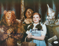 """Donna Stewart-Hardway, Jerry Maren, & Karl Slover Signed """"The Wizard of Oz"""" 11x14 Photo (JSA COA) at PristineAuction.com"""